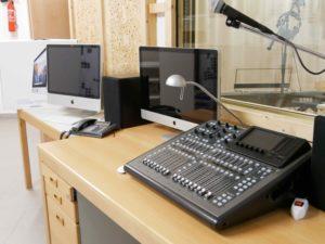 Computer und Mischpult